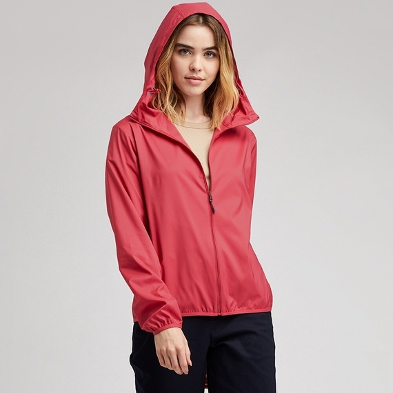 AO KHOAC CHONG NANG NU UNIQLO 14 RED