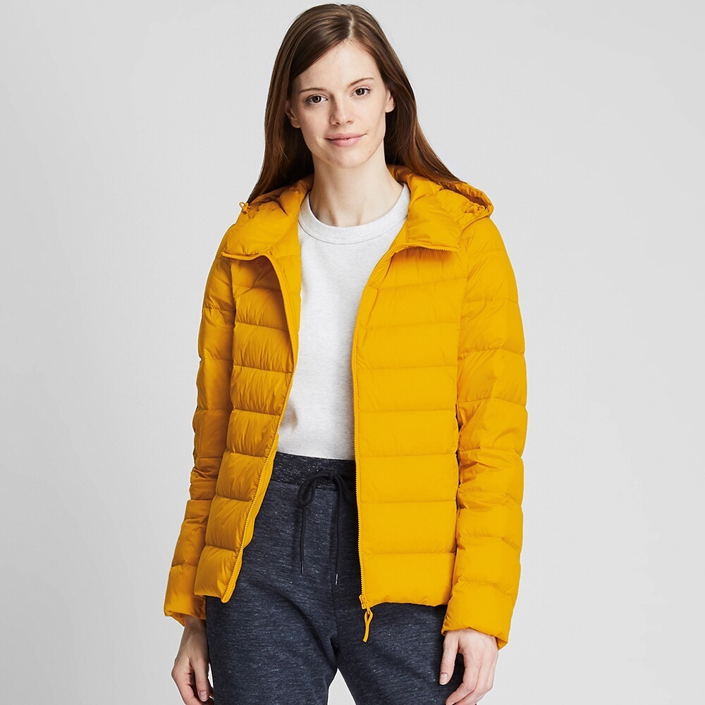 Ao Phao Long Vu Nu Uniqlo 2019 Mau 47 Yellow