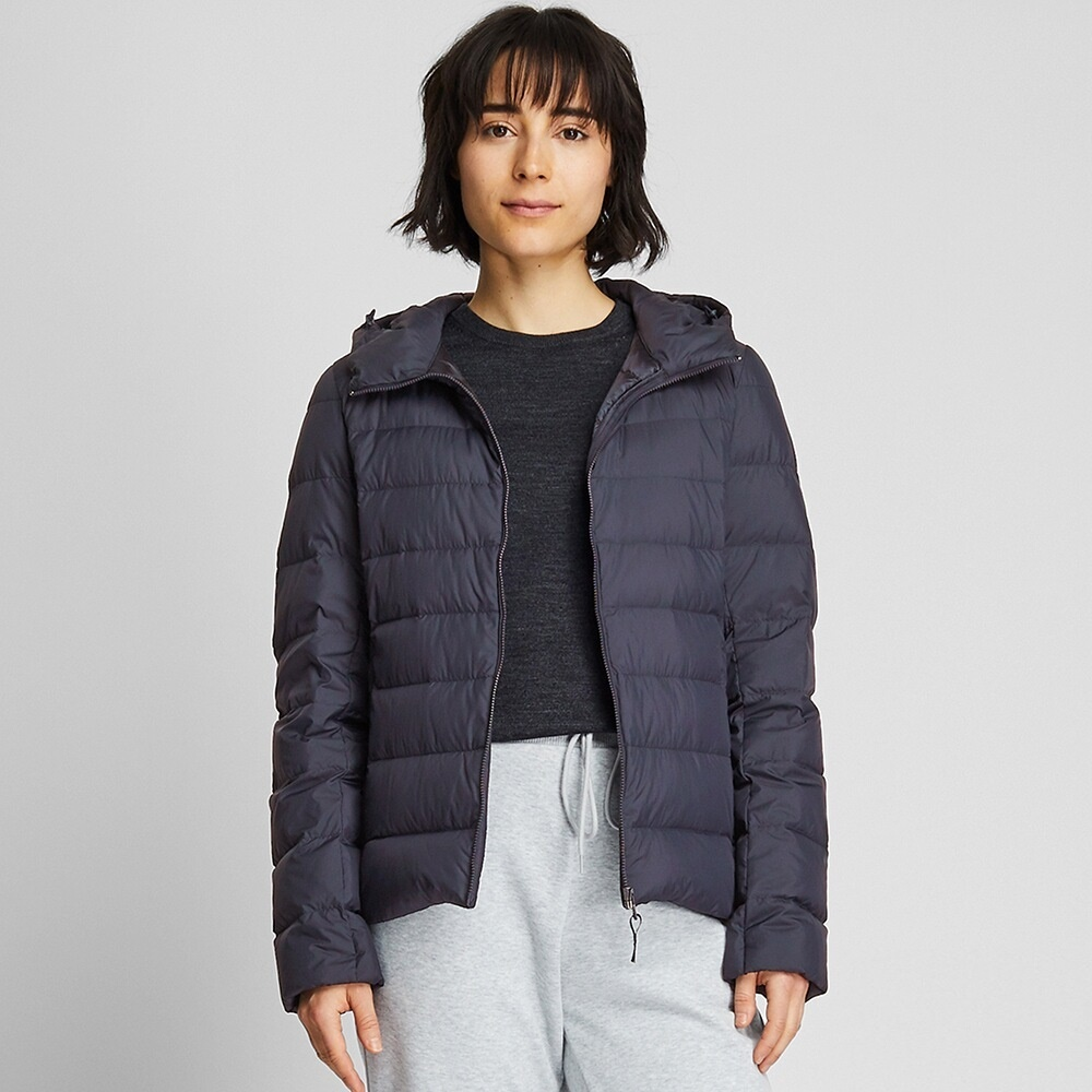 Ao Phao Long Vu Nu Uniqlo 2019 Mau 69 Navy