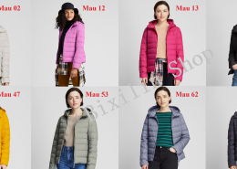Bang Mau Ao Phao Long Vu Nu Uniqlo 2019